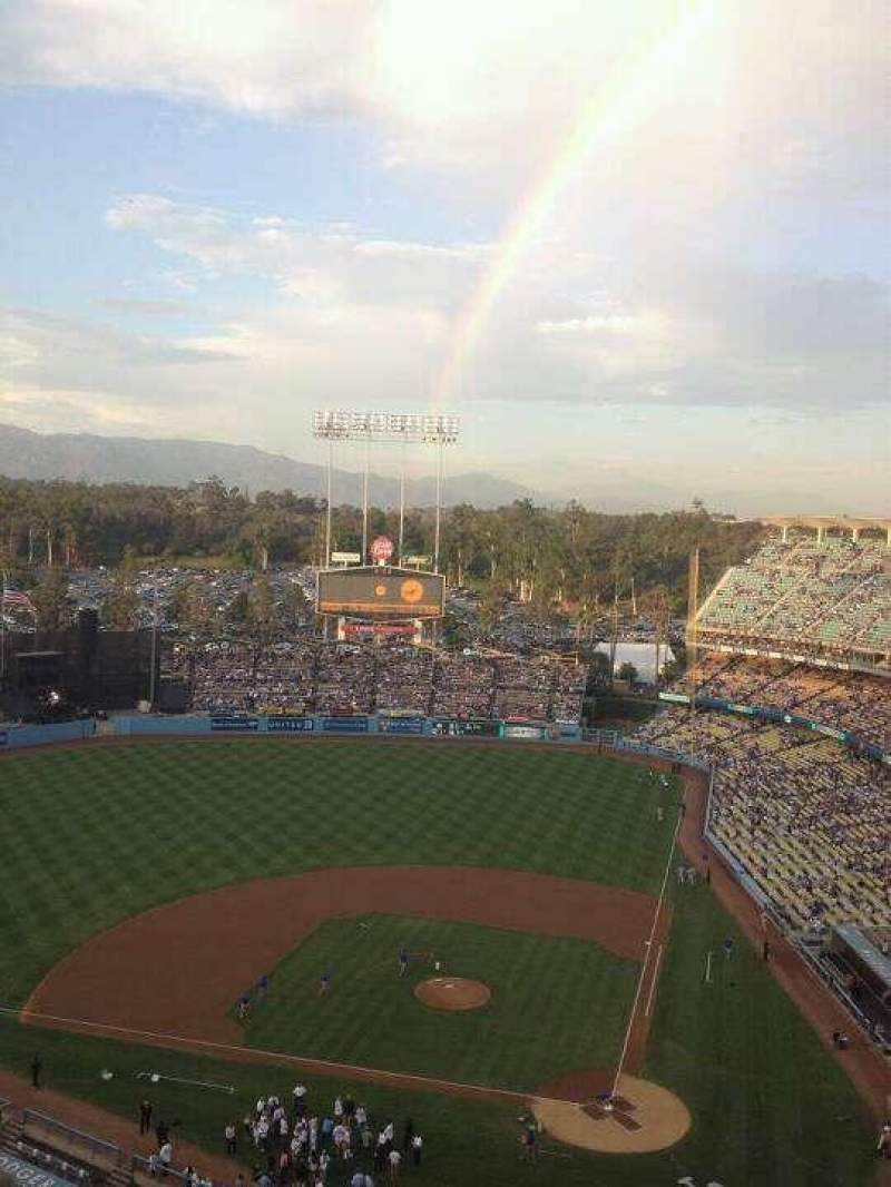 Seating view for Dodger Stadium Section 9TD Row N Seat 20