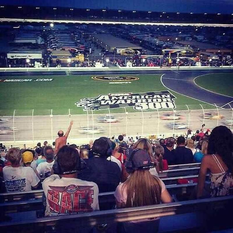 Seating view for Atlanta Motor Speedway Section 143