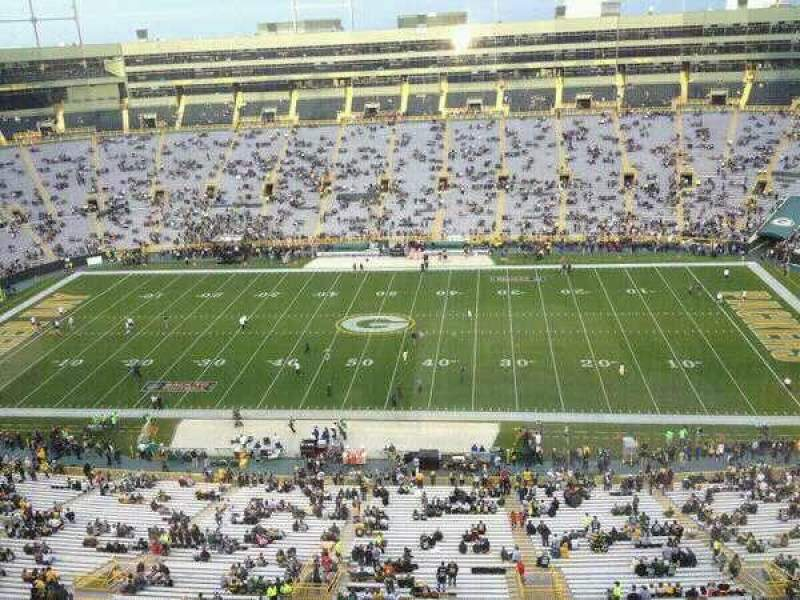 Seating view for Lambeau Field Section Suite 5028