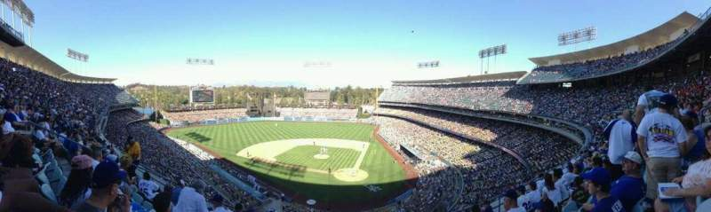 Seating view for Dodger Stadium Section 7RS Row F Seat 10