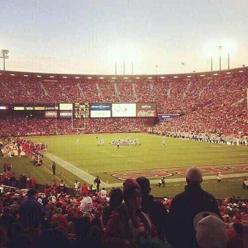 Seating view for Candlestick Park Section LR 2
