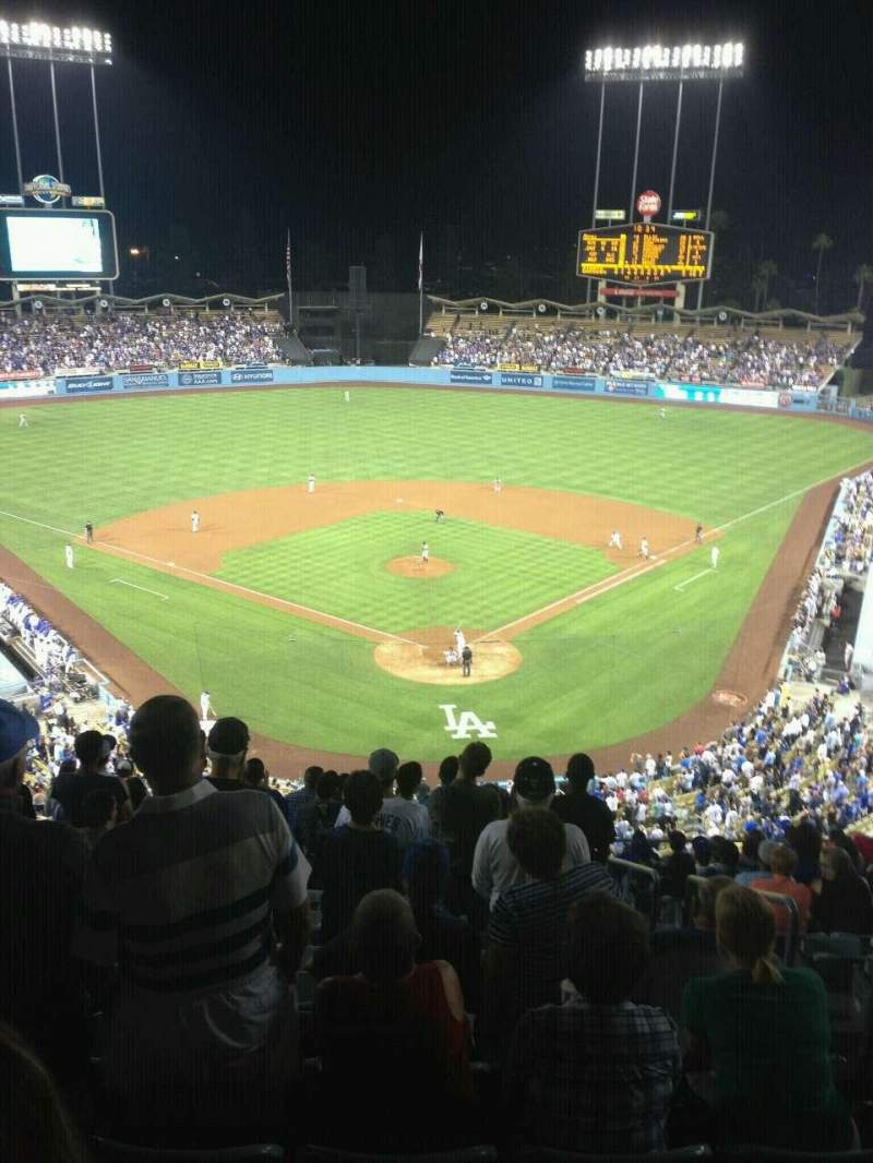 Seating view for Dodger Stadium Section 3RS Row O Seat 3