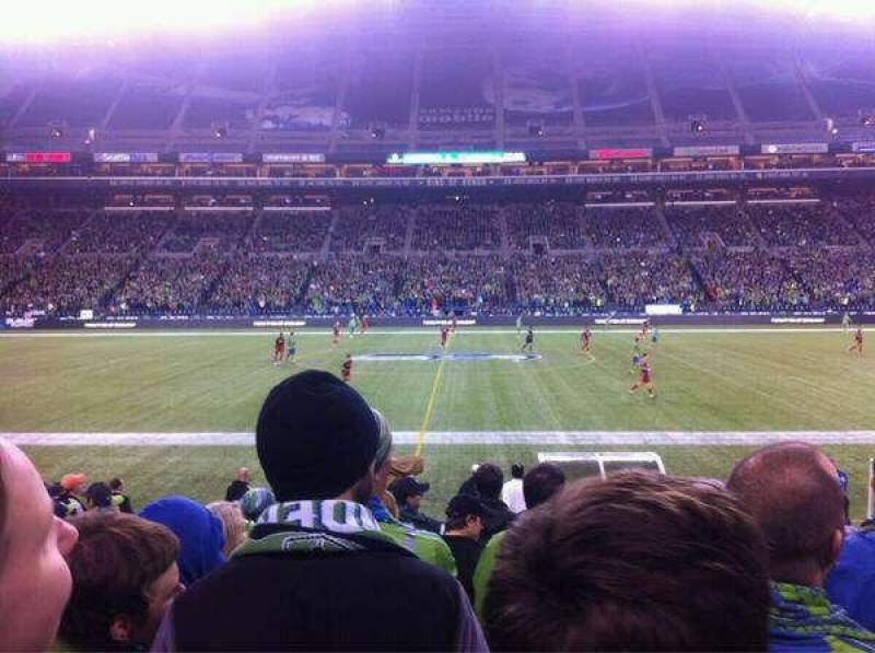 Seating view for CenturyLink Field Section 135
