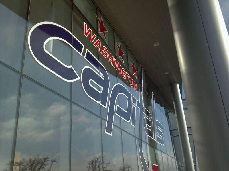 Seating view for Kettler Capitals Iceplex Section Outside