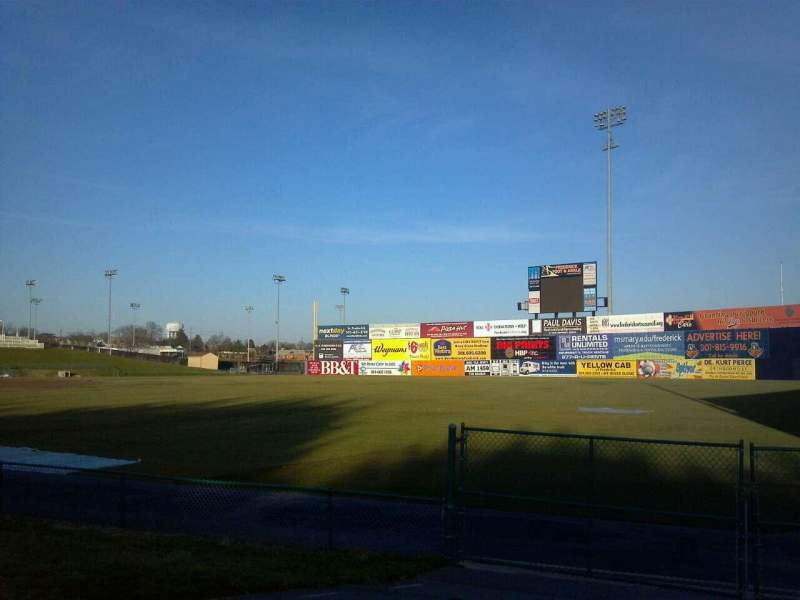 Harry Grove Stadium, section: Right Field Fence