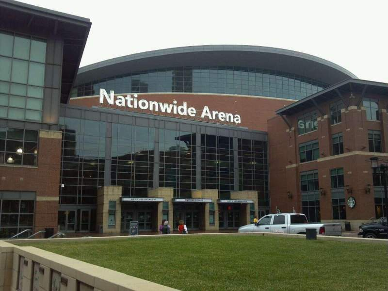 Seating view for Nationwide Arena Section Outside