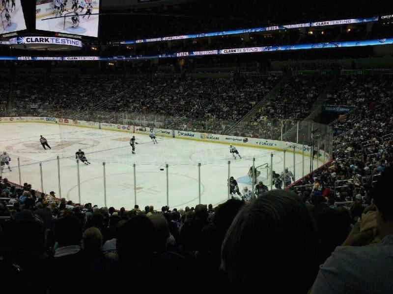 Seating view for PPG Paints Arena Section 110 Row T Seat 15