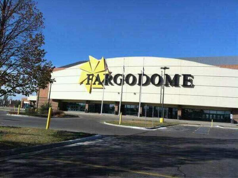 Seating view for Fargodome Section Outside