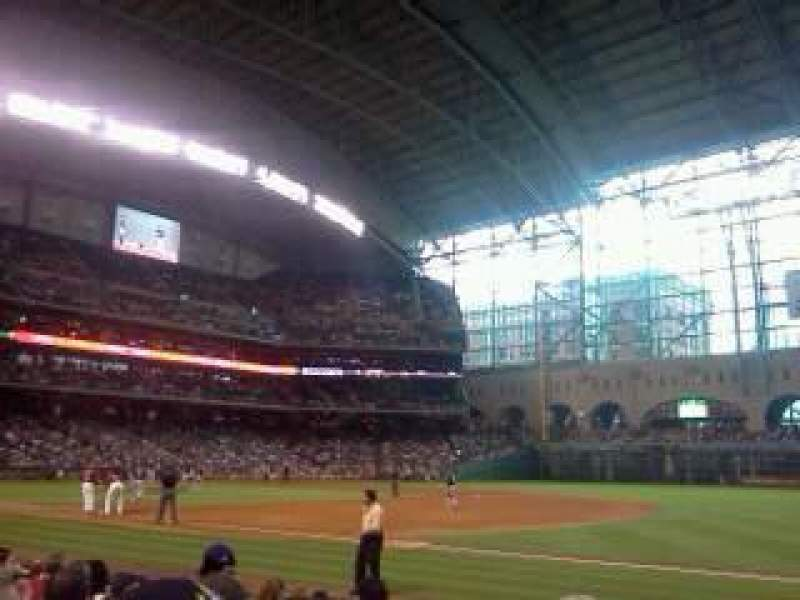 Seating view for Minute Maid Park Section 128 Row 9 Seat 15