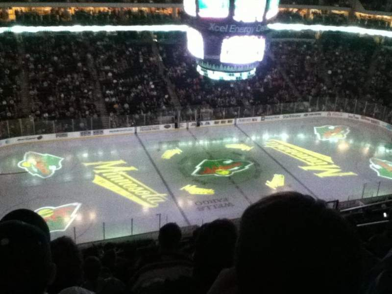 Seating view for Xcel Energy Center Section 221 Row 9 Seat 10