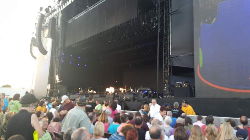 Seating view for Hershey Park Stadium Section A Row 8