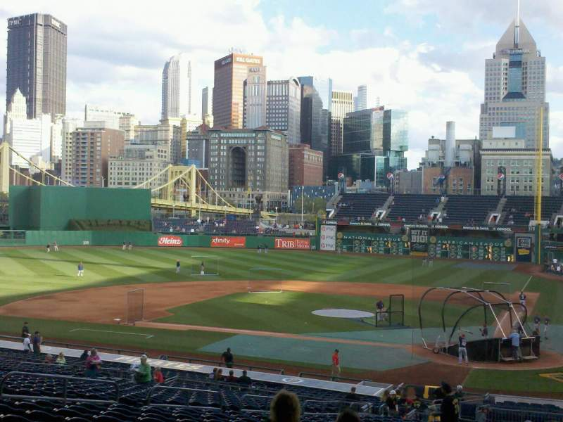 Seating view for PNC Park Section 119 Row GG Seat 24