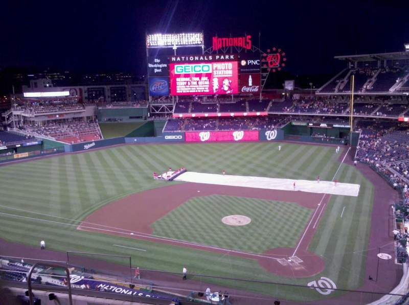 Seating view for Nationals Park Section 311 Row G Seat 16