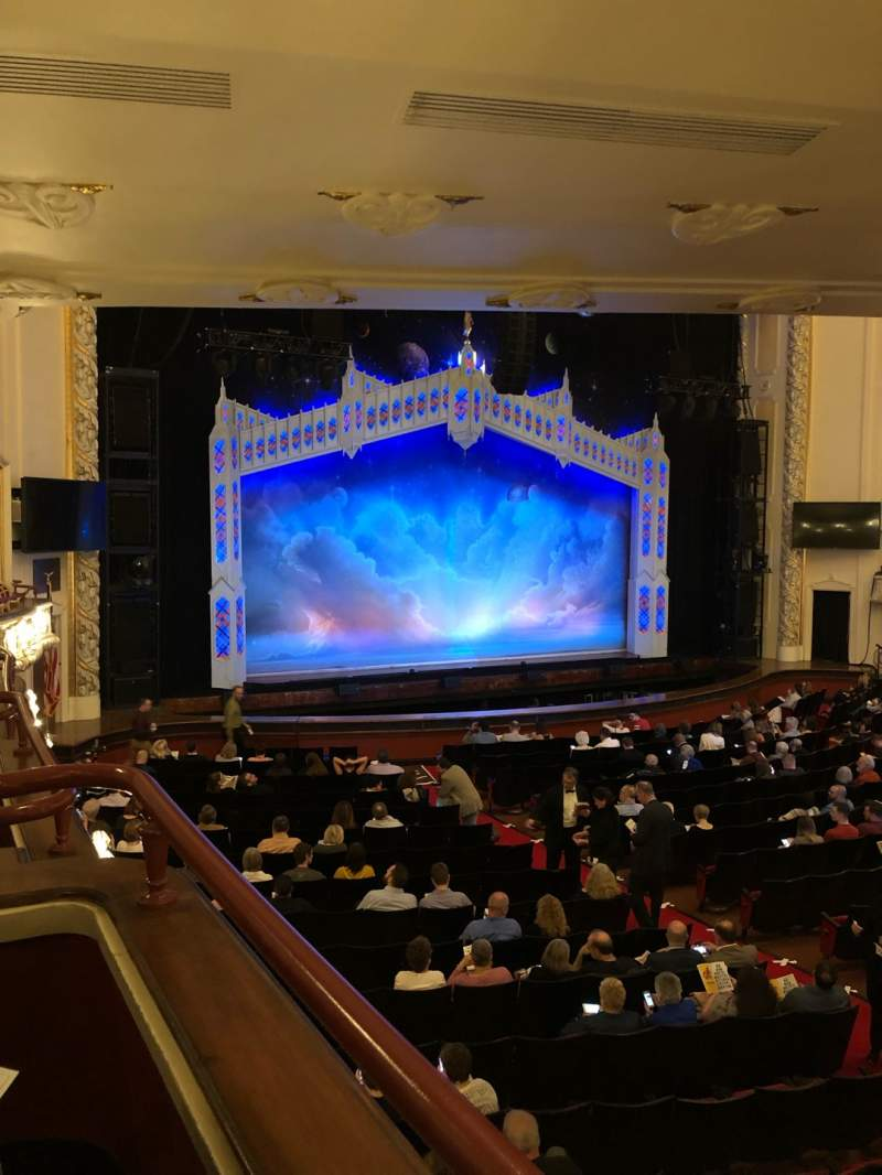 Seating view for Heinz Hall Section Grand Tier L Row H Seat 3