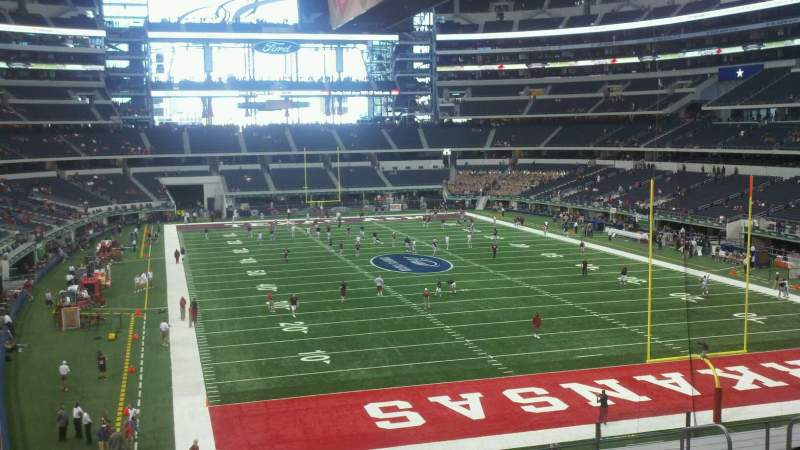 Seating view for AT&T Stadium Section 125 Row 8 Seat 1