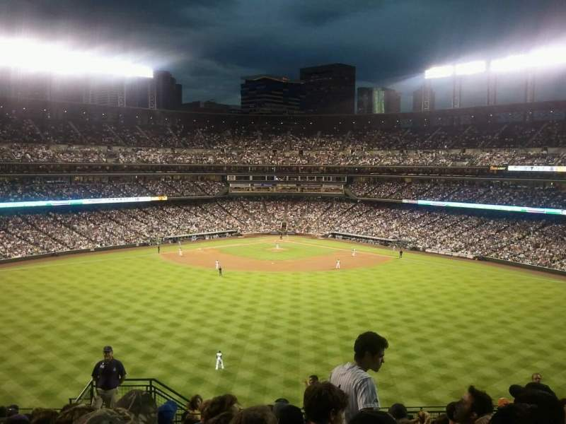 Coors Field, section: 402, row: 16, seat: 39
