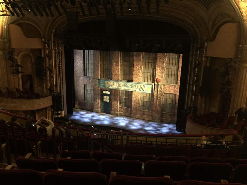 Seating view for Al Hirschfeld Theatre Section MEZZR Row L Seat 8