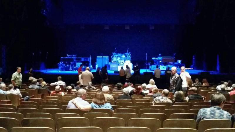 Seating view for Keller Auditorium Section Orchestra C Row R Seat 7