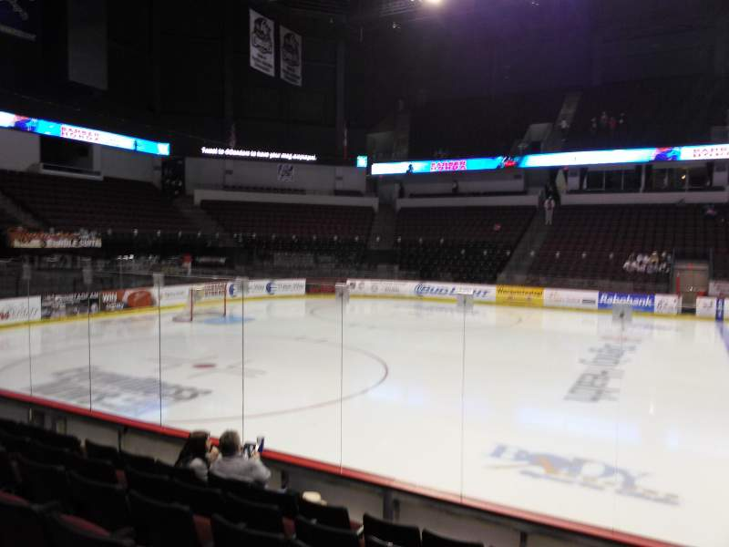 Rabobank Arena, section: 114, row: F, seat: 7