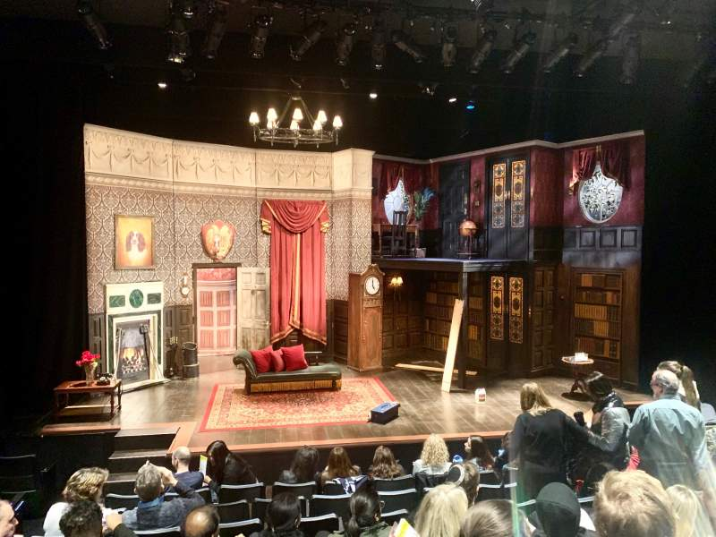 Seating view for New World Stages - Stage 4 Section Orchestra Row J Seat 103
