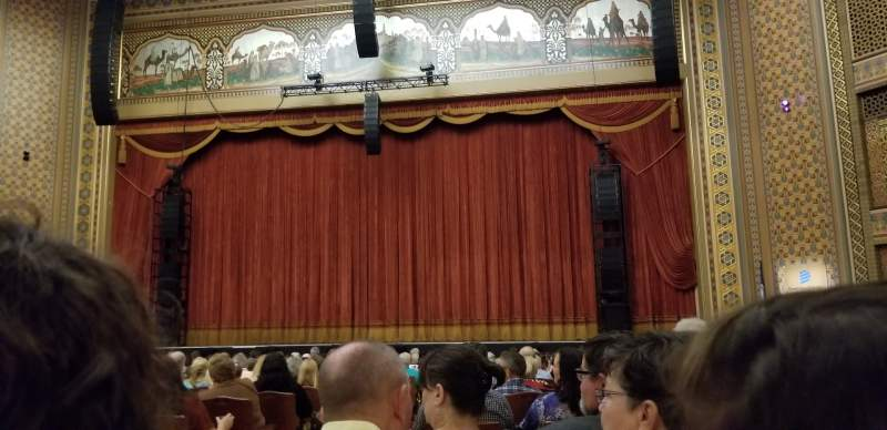 Seating view for Altria Theater Section B Row U Seat 213
