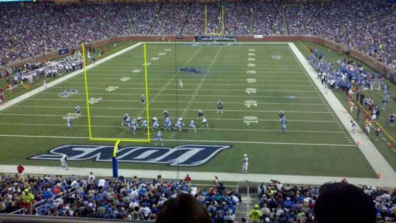 Seating view for Ford Field Section 244