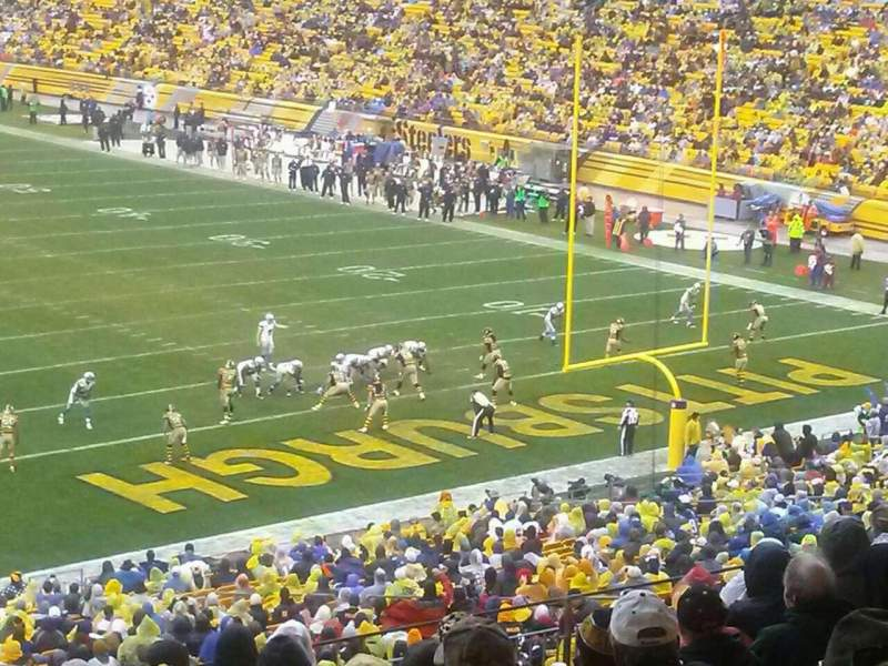 Seating view for Heinz Field Section 219 Row O Seat 26