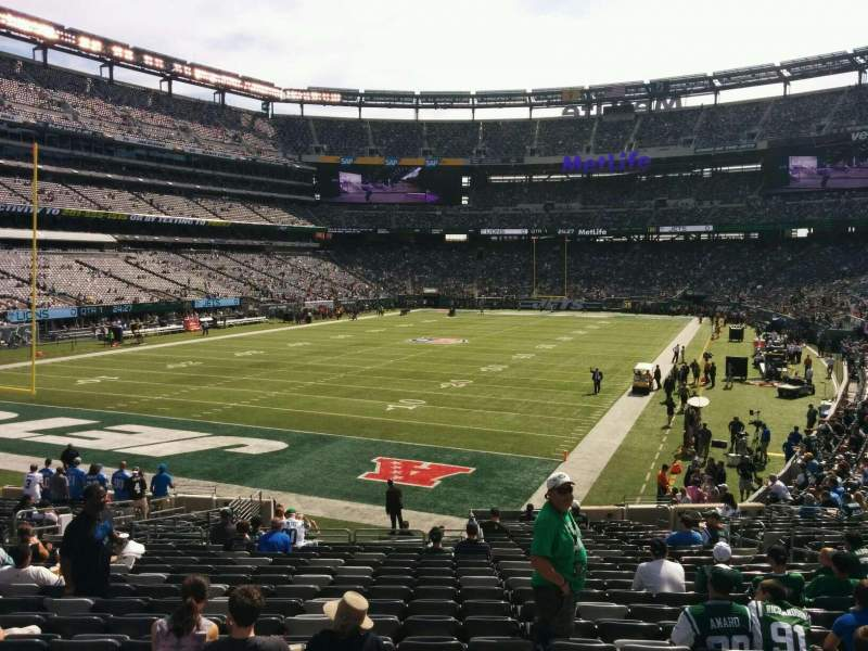 Seating view for MetLife Stadium Section 148 Row 25 Seat 13