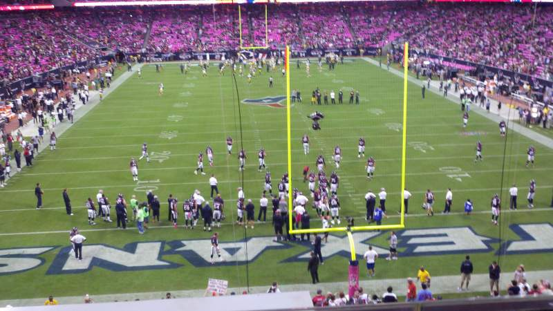 Seating view for NRG Stadium Section 352 Row C Seat 11