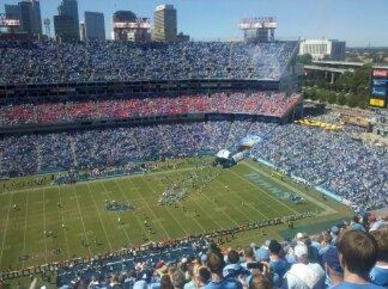 Nissan Stadium, section: 313, row: Z, seat: 17