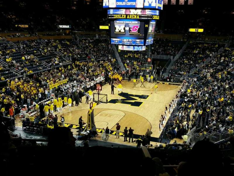 Seating view for Crisler Center Section 212 Row 29 Seat 9