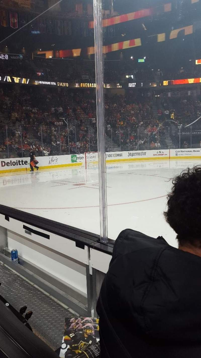 Seating view for T-Mobile Arena Section 5 Row GS2 Seat 6