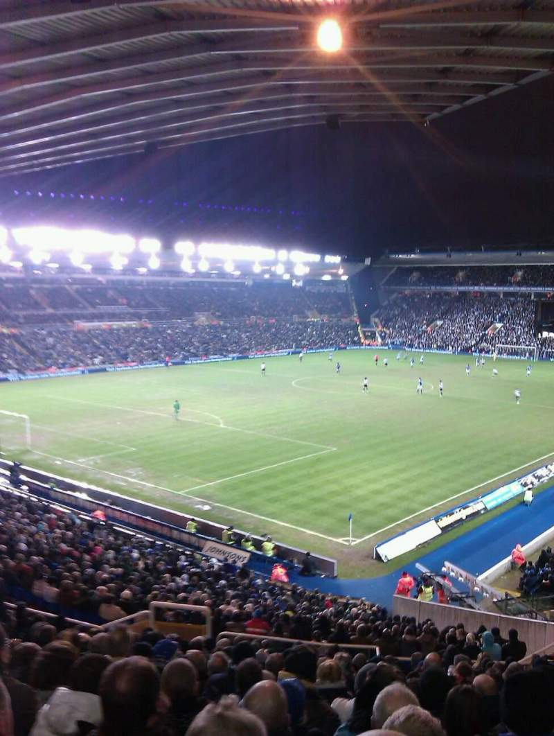 Seating view for St Andrew's Stadium Section 1 Row 38 Seat 19