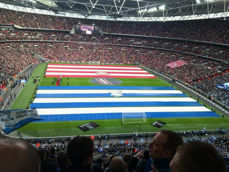 Seating view for Wembley Stadium Section 541 Row 11 Seat 47