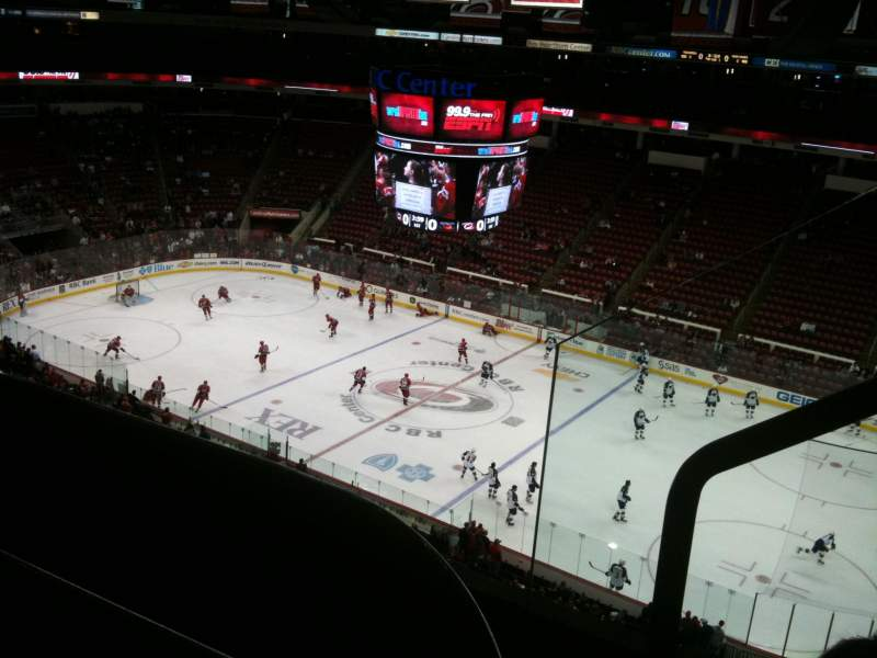 Seating view for PNC Arena Section 302 Row C Seat 2