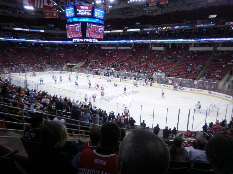 Seating view for PNC Arena Section 115 Row Y Seat 13