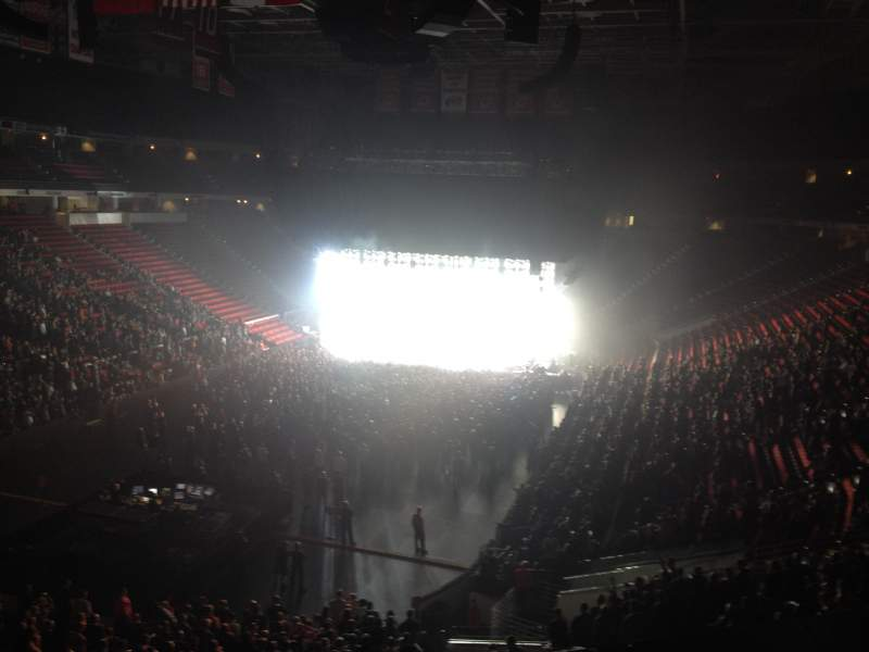 Seating view for PNC Arena Section 225 Row A Seat 16
