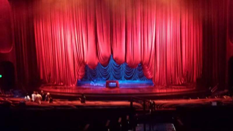 Seating view for Aria Casino Theatre Section 303 Row T Seat 1