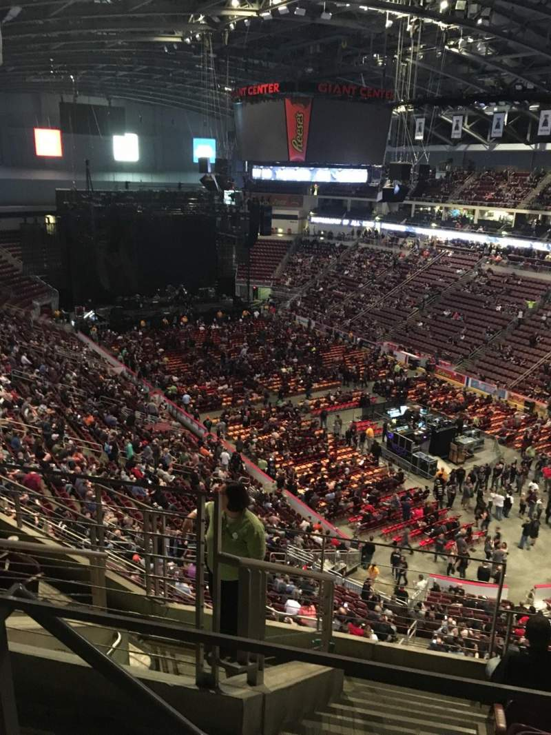 Seating View For Giant Center Section 224 Row F Seat 23