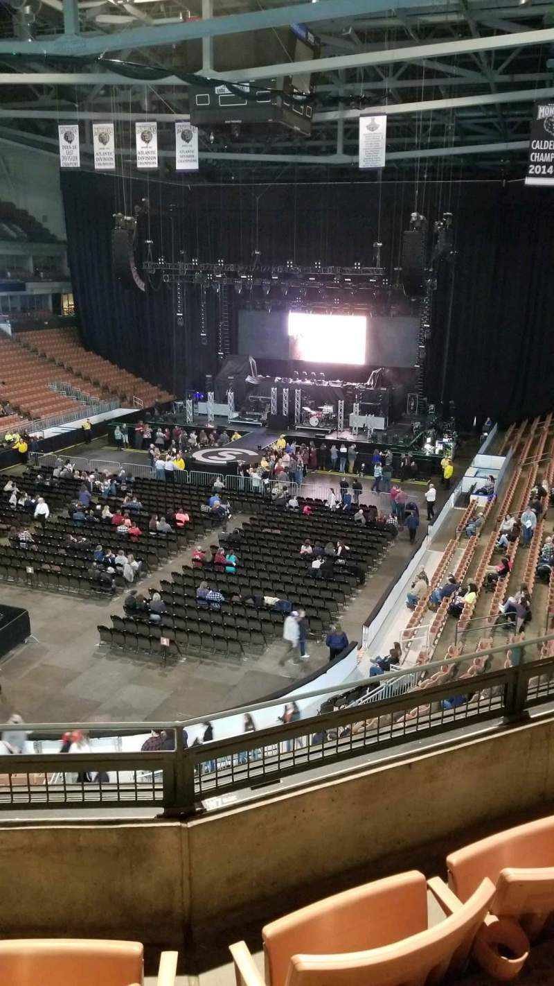SNHU Arena, section: 225, row: C, seat: 10