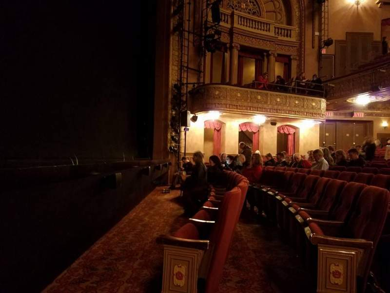 Seating view for Ethel Barrymore Theatre Section Orchestra L Row BB Seat 5