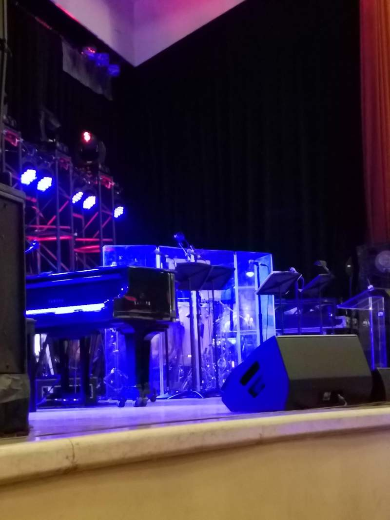 Seating view for The Town Hall Section Orch Row E Seat 9