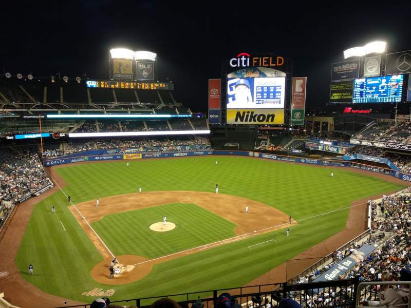 Citi field interactive baseball seating chart