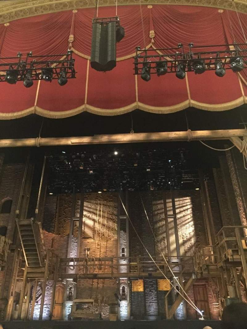Seating view for Boston Opera House Section Orchestra Center Row D Seat 104