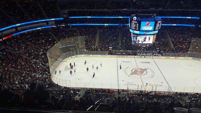 Seating view for Prudential Center Section 228 Row 3 Seat 6