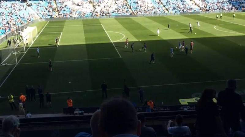 Seating view for Etihad Stadium (Manchester) Section 230 Row J Seat 808