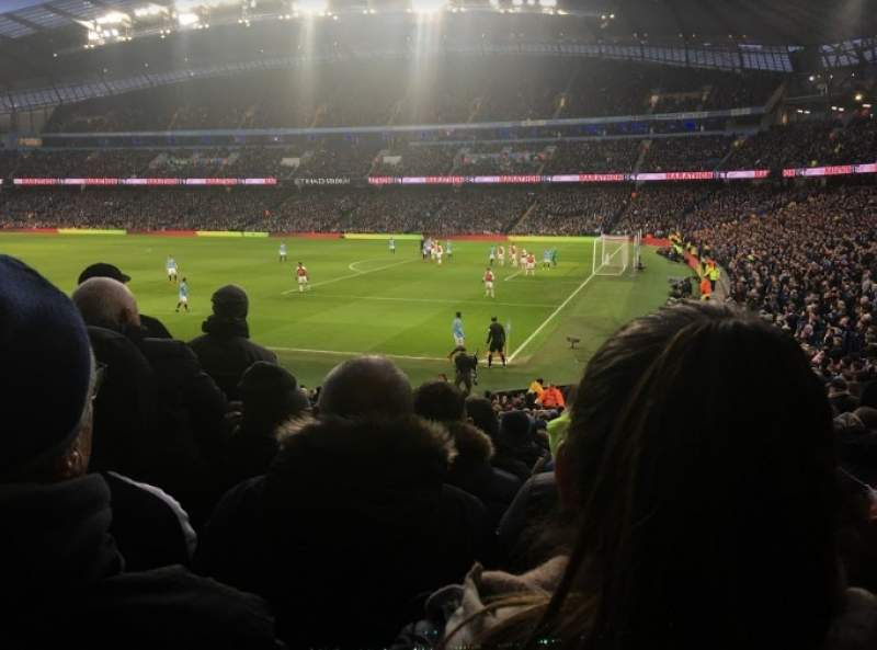 Seating view for Etihad Stadium (Manchester) Section 121 Row z Seat 581
