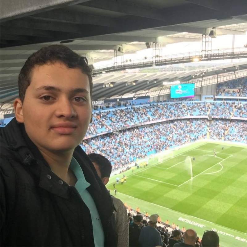 Seating view for Etihad Stadium (Manchester) Section 326 Row dd Seat 737