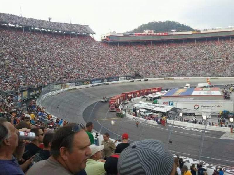 Seating view for Bristol Motor Speedway