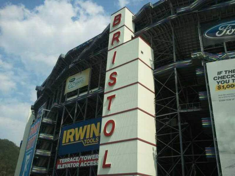 Seating view for Bristol Motor Speedway